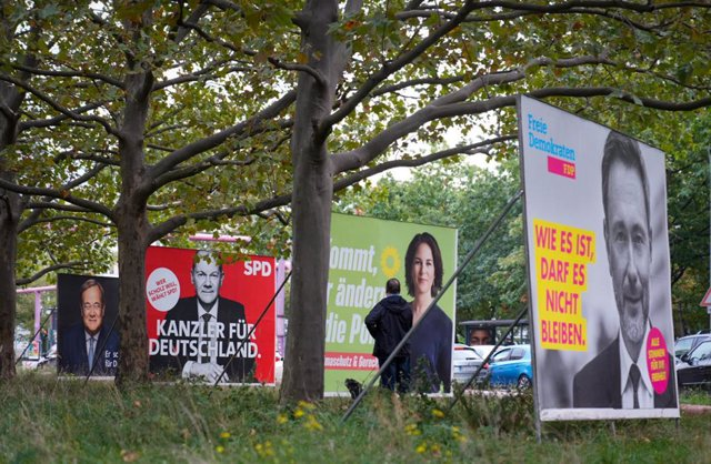 Carteles electorales en Alemania