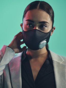Archivo - Mascarilla Fresh Air Mask de Philips