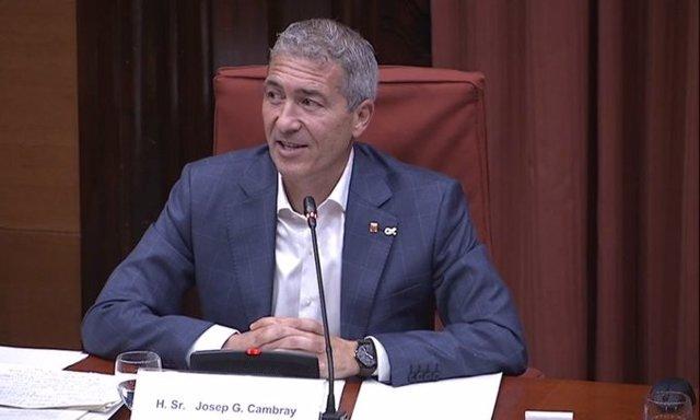 El conseller d'Educació Josep Gonzàlez-Cambray