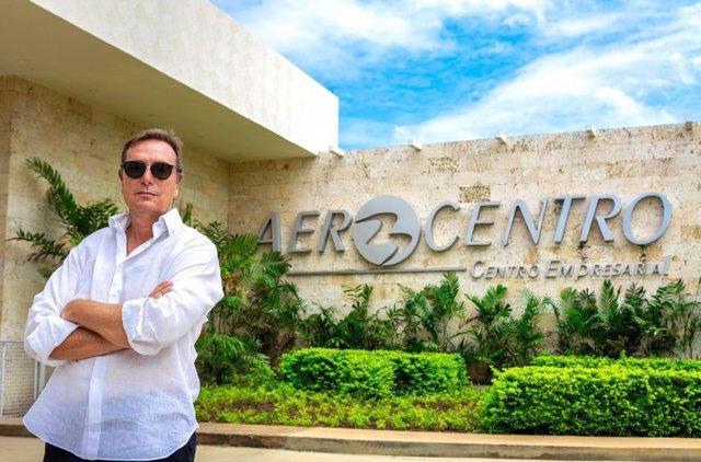 Constantino Bonaduce, presidente y propmotor de Aerocentro Parque Industrial