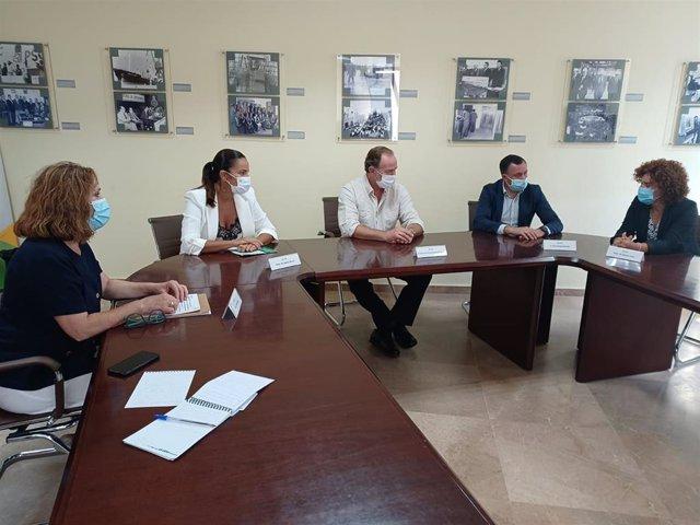 Presentación en Huelva del I Foro de Ecoturismo de Andalucía.