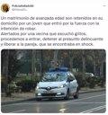 Liberado a un matrimonio retenido por un joven que entró a robar en una casa de Valladolid
