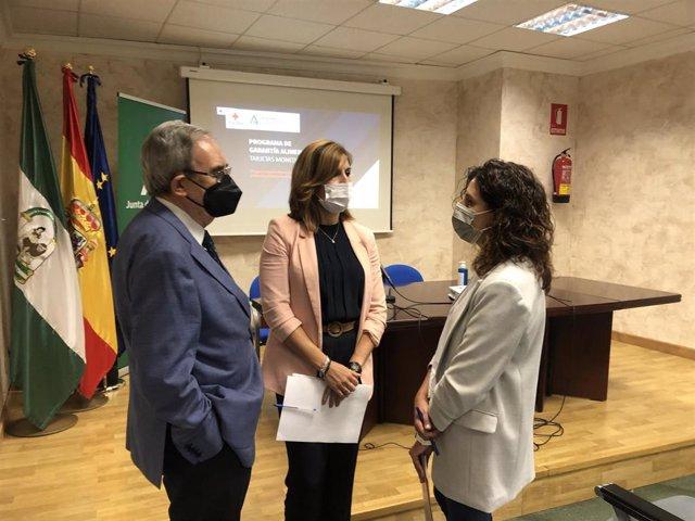 Presentación del balance en Jaén del programa extraordinario de Tarjeta Monedero