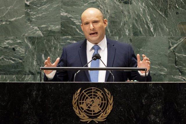 Naftali Bennett habla ante la Asamblea General de la ONU