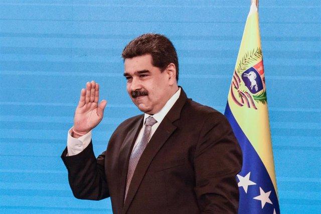 El presidente de Venezula, Nicolás Maduro