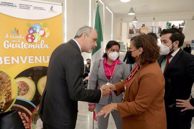 A tavola con il Guatemala fue organizado por la Embajada de Guatemala