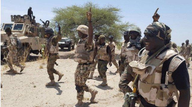 Militares del Ejército de Nigeria