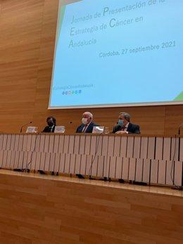 Celebración de la jornada para presentar la Estrategia de Cáncer en Andalucía.