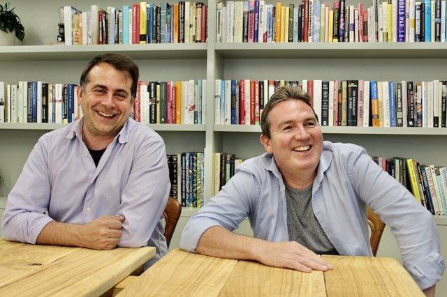 Portman Wills, co-fundador y CTO de Wagestream y Peter Briffett,