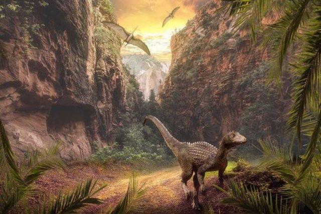 Los cambios ecológicos que siguieron a la intensa actividad volcánica hace 230 millones de años allanaron el camino para el dominio de los dinosaurios