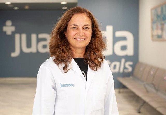 La especialista en Ginecología, María Josefa Manzano Villalba.