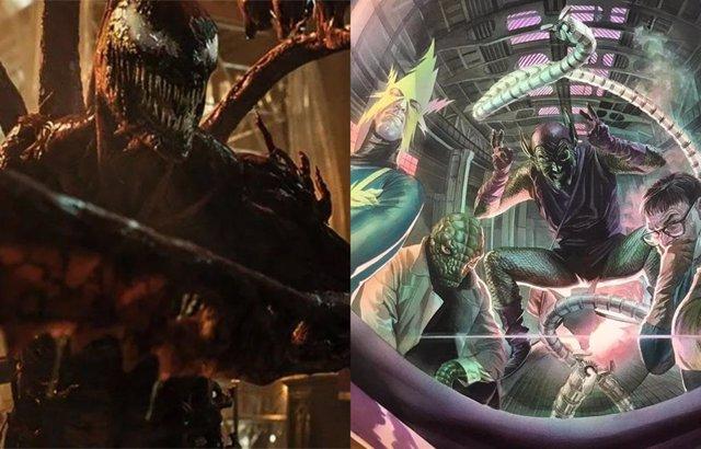 Venom 2 conectará con los Seis Siniestros