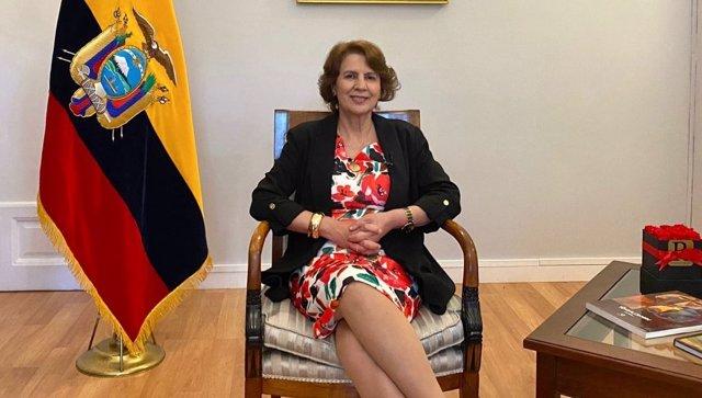 Rosalía Arteaga, candidata de Ecuador a la SEGIB