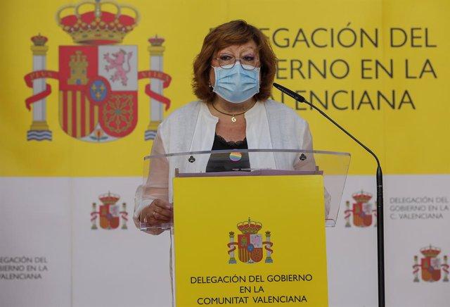 Archivo - La delegada del Govern a la Comunitat Valenciana, Gloria Calero, en imatge d'arxiu