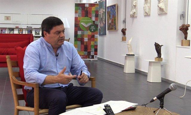 Archivo - El director de la sede de la UNIA en La Rábida, Agustín Galán