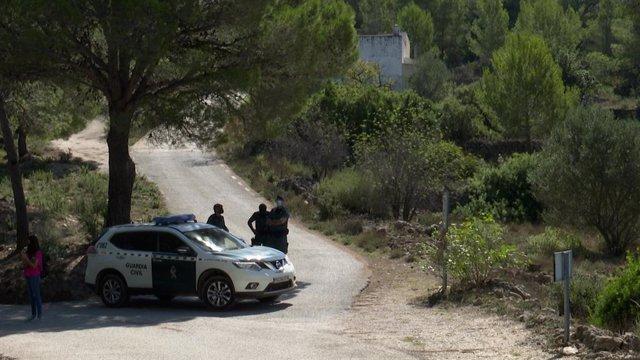 Guàrdia Civil busca el cos sense vida de Marta Calvo