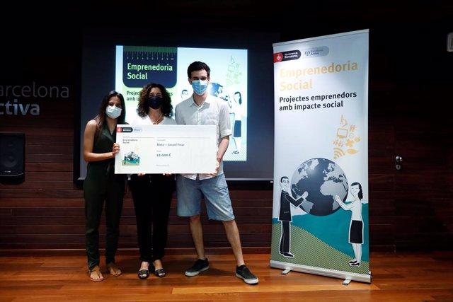 Els guanyadors del programa d'emprenedoria social de Barcelona Activa