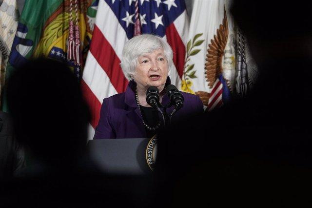La secretaria del Tesoro de Estados Unidos, Janet Yellen