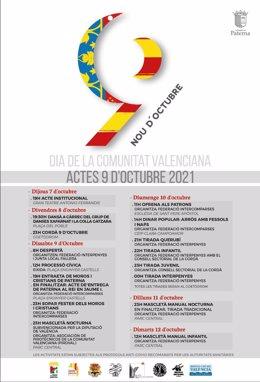 Programación 9 d'Octubre en Paterna