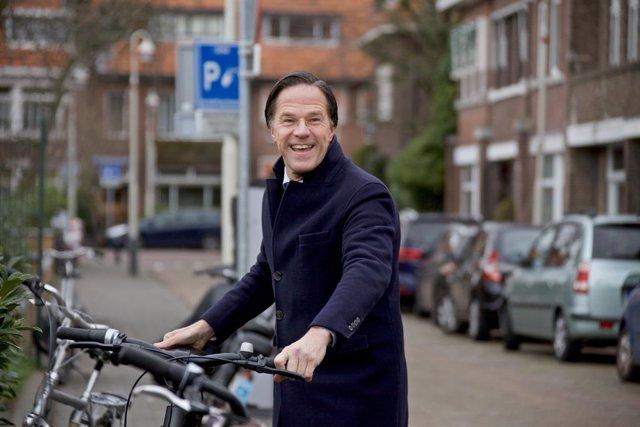 Archivo - Mark Rutte, primer ministro de Países Bajos