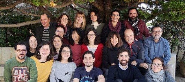 Grupo de investigación del CIBERSAM, liderado por Edith Pomarol.