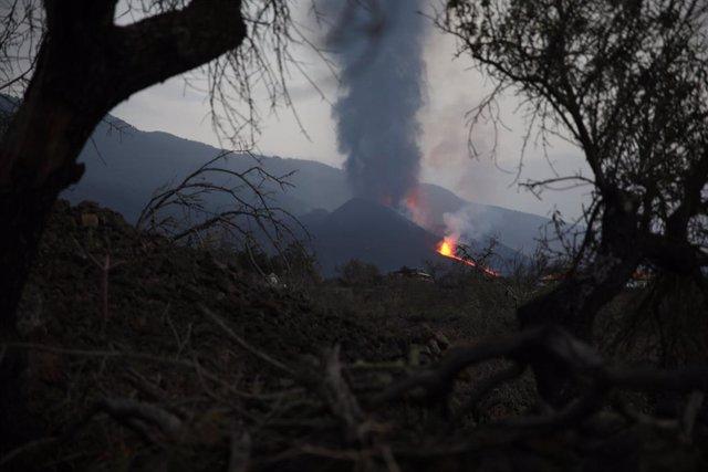 El volcà de Cumbre Vieja en La Palma