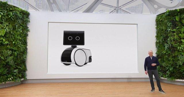 Robot doméstico Amazon Astro.