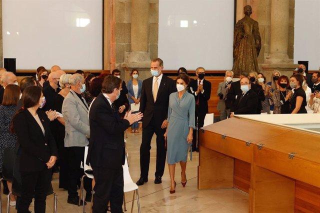 Los Reyes presiden el acto de entrega de los Premios Nacionales de Cultura 2018 y 2019, con los que  el Ministerio de Cultura Reconoce a quienes han contribuido al enriquecimiento del patrimonio cultural de España.