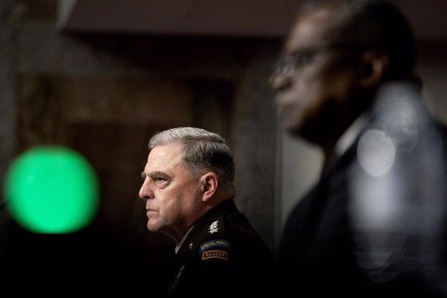 El jefe del Estado Mayor Conjunto de Estados Unidos, el general Mark Milley.