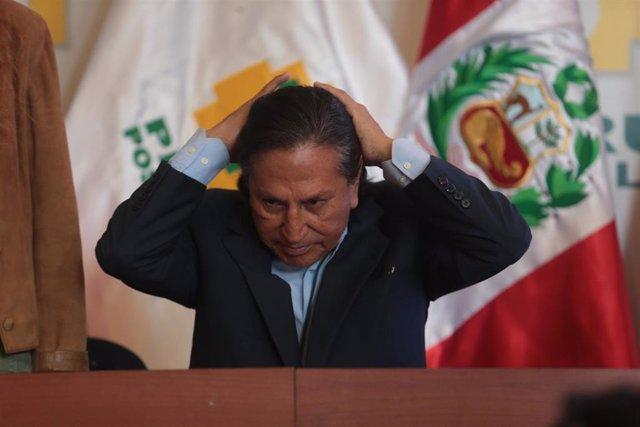 El expresidente de Perú Alejandro Toledo