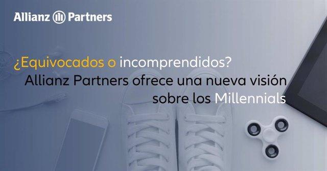 Estudio Allianz Partners sobre el colectivo de Millennials.