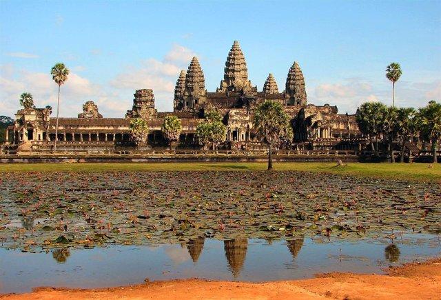 Ruinas de Angkor Vat