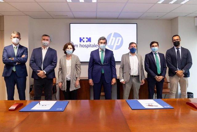 HM Hospitales y HP se alían para promover la mejora de la salud de las personas a través de la tecnología