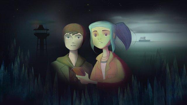 Imagen de Oxenfree, videojuego de Night School Studio.