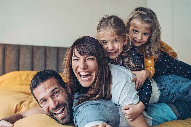 Archivo - Familia feliz.