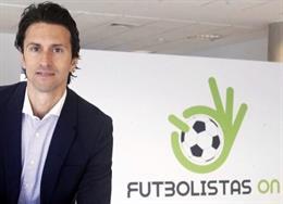 Archivo - Juan José Martínez, presidente del sindicato Futbolistas ON