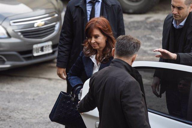 Archivo - La vicepresidenta de Argentina, Cristina Fernandez de Kirchner.
