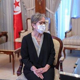 La primera ministra designada de Túnez, Najla Buden Romdhane