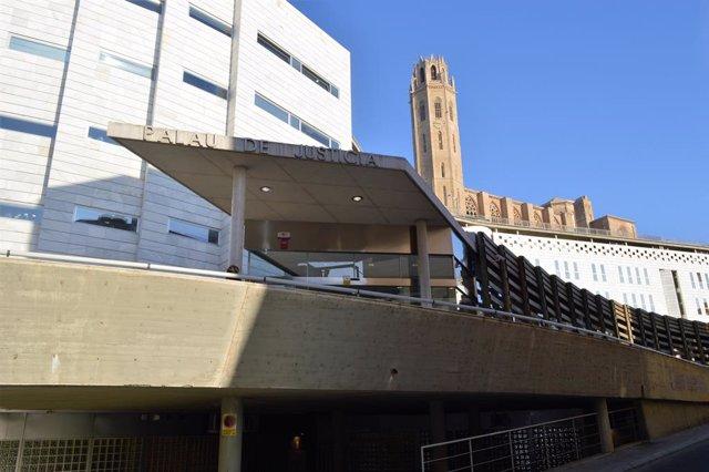 Archivo - Arxiu - Edifici dels jutjats de Lleida