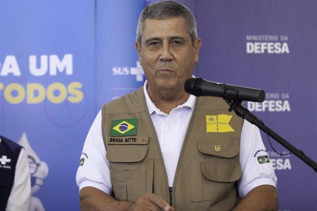 El ministro de Defensa de Brasil, Walter Braga Netto.