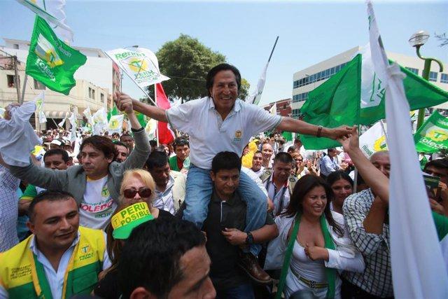El expresidente de Perú, Alejandro Toledo