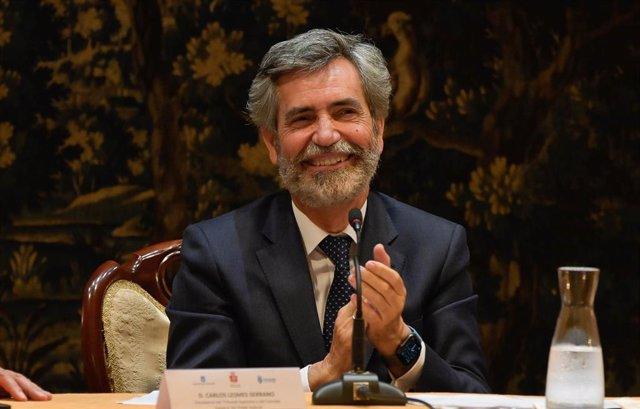 Arxiu - El president del Tribunal Suprem i del Consell General del Poder Judicial, Carlos Lesmes