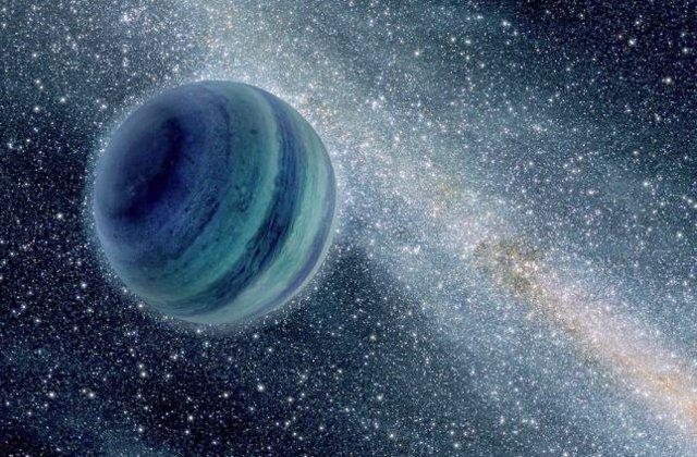 Planeta rebelde, que no orbita ninguna estrella