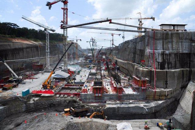 Archivo - Obras de ampliación del Canal de Panamá