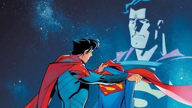 El hijo de Superman toma el relevo de su padre en los cómics