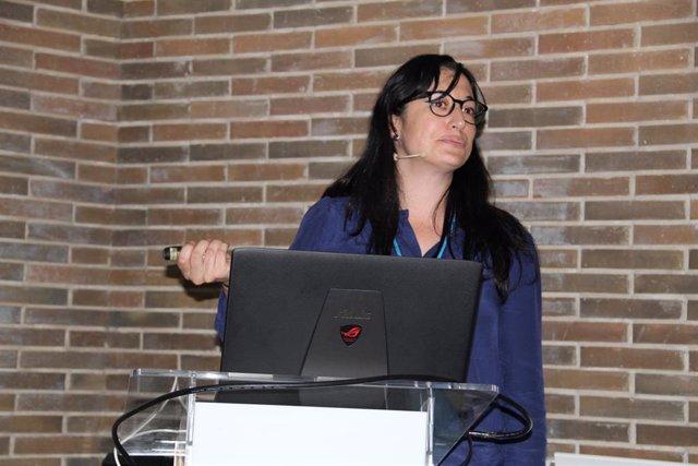 La doctora María José Peña.