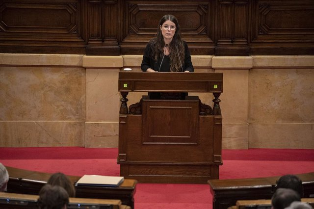 La portaveu de Junts al Parlament, Mònica Sales