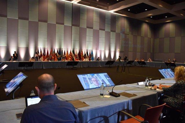 I Encuentro de Atención Primaria, que se celebra este jueves y viernes en Maspalomas (Gran Canaria), y donde se reúnen representantes del Ministerio de Sanidad y las comunidades autónomas dentro del Consejo Interterritorial del Sistema Nacional de Salud