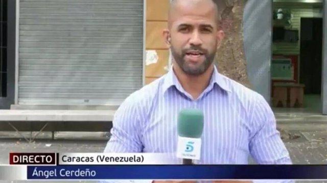 Muere el corresponsal de Mediaset en Venezuela, Ángel Rafael Cerdeño, a los 38 años
