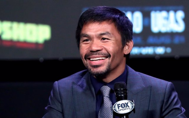 El boxador Manny Pacquiao, candidat a la Presidència de Filipines